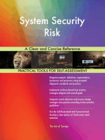 System Security Risk A Clear and Concise Reference