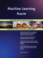 Machine Learning Azure Complete Self-Assessment Guide