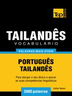 Vocabulário Português-Tailandês