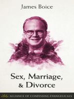 Sex, Marriage, and Divorce