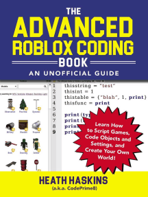 Read The Advanced Roblox Coding Book An Unofficial Guide Online