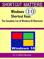 Windows 10 Shortcut Keys