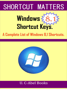 Windows 8.1 Shortcut Keys