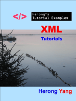 XML Tutorials - Herong's Tutorial Examples