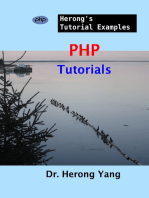 PHP Tutorials - Herong's Tutorial Examples