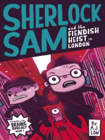 Sherlock Sam and the Fiendish Heist in London