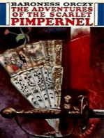 The adventures of the Scarlet Pimpernel