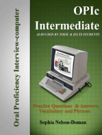OPIc Intermediate