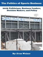 The Politics of Sports Business 2018