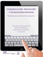 Comunicación, educación y tecnologías digitales: Tendencias actuales en investigación
