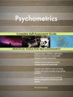 Psychometrics Complete Self-Assessment Guide