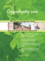 Opportunity cost The Ultimate Step-By-Step Guide