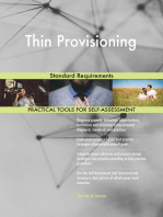 Thin Provisioning Standard Requirements