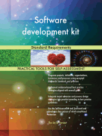Software development kit Standard Requirements