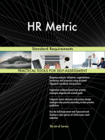 HR Metric Standard Requirements
