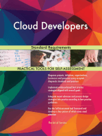 Cloud Developers Standard Requirements