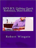 MVS JCL Utilities Quick Reference, Third Edition