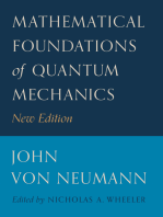 Mathematical Foundations of Quantum Mechanics: New Edition