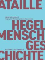 Hegel, der Mensch und die Geschichte