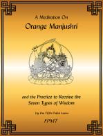 A Meditation on Orange Manjushri eBook
