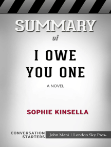 Summary of I Owe You One: A Novel: Conversation Starters