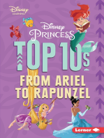 Disney Princess Top 10s