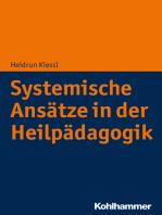 Systemische Ansätze in der Heilpädagogik