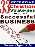 33 Effective Christian Strategies To Grow A Successful Business