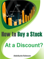 How to Buy a Stock At a Discount?