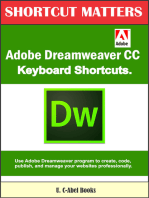 Adobe Dreamweaver CC Keyboard Shortcuts