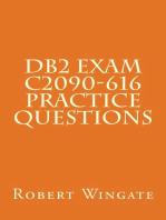 DB2 Exam C2090-616 Practice Questions