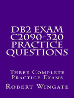 DB2 Exam C2090-320 Practice Questions
