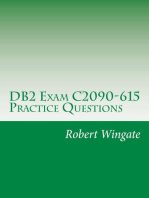 DB2 Exam C2090-615 Practice Questions