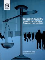 Sociología del campo jurídico en Colombia