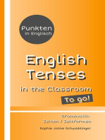 Punkten in Englisch - English Tenses in the Classroom - To go!