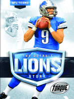 The Detroit Lions Story