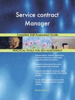 Service contract Manager Complete Self-Assessment Guide
