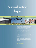 Virtualization layer Standard Requirements