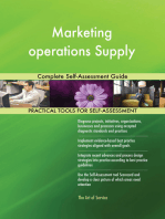 Marketing operations Supply Complete Self-Assessment Guide