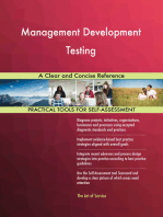 Management Development Testing A Clear and Concise Reference