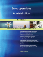 Sales operations Administration Third Edition