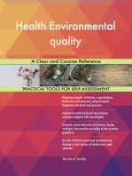 Health Environmental quality A Clear and Concise Reference