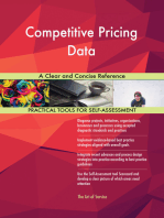 Competitive Pricing Data A Clear and Concise Reference
