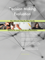 Decision Making Evaluation The Ultimate Step-By-Step Guide