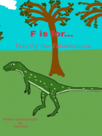 F is for... Felicity the Fabrosaurus