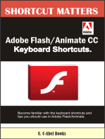 Adobe Flash/Animate CC Keyboard Shortcuts