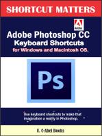 Adobe Photoshop CC Keyboard Shortcuts for Windows and Macintosh