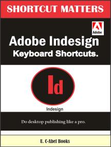 Adobe InDesign Keyboard Shortcuts