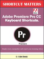 Adobe Premiere Pro CC Keyboard Shortcuts