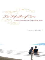 The Republic of Love: Cultural Intimacy in Turkish Popular Music